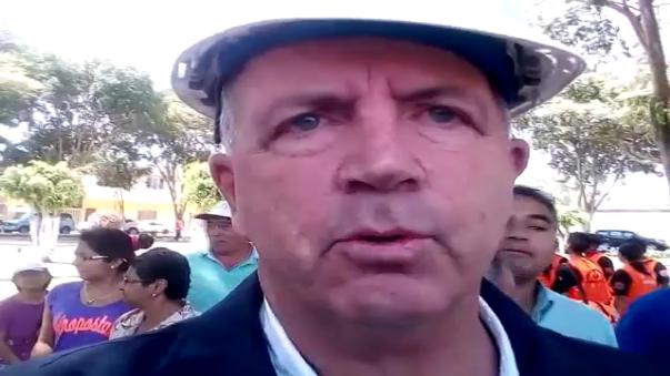 Gobernador Regional de Ica Fernando Cillóniz lamentó lo sucedido.