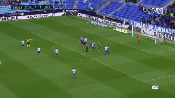 Con este resultado, el Málaga escaló a la casilla 9 de la Liga Santander con 19 puntos.
