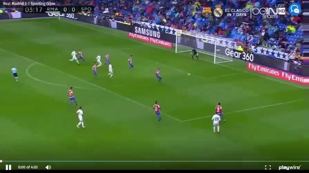 Revive aquí los goles del triunfo 2-1 del Real Madrid sobre Sporting Gijón.