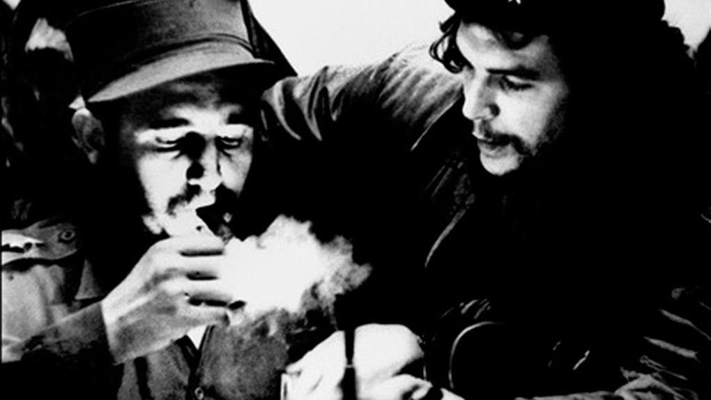 Fidel Castro con el 'Che' Guevara, su socio en la Revolución Cubana.