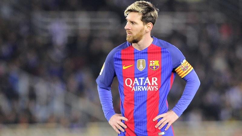 Lionel Messi llegó a su noveno tanto en la Liga Santander.