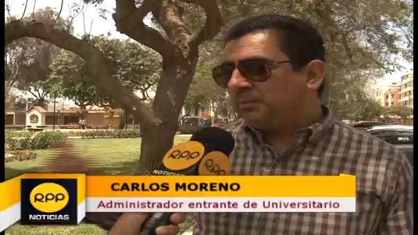 Carlos Moreno es abogado e hincha confeso de la 'U'.