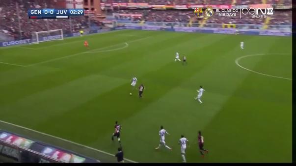 Genoa 3-1 Juventus (Resumen del partido).