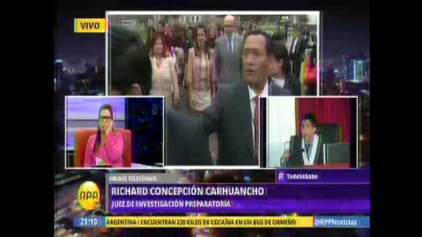 Concepción Carhuancho explicó el proceso de Nadine Heredia en RPP.