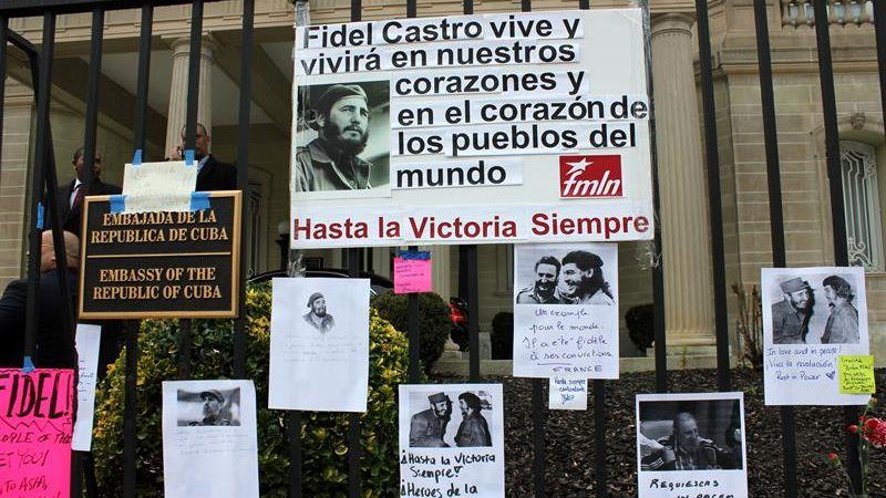 La embajada de Cuba en Estados Unidos se convirtió en un símbolo de los cambios de la Revolución cubana.