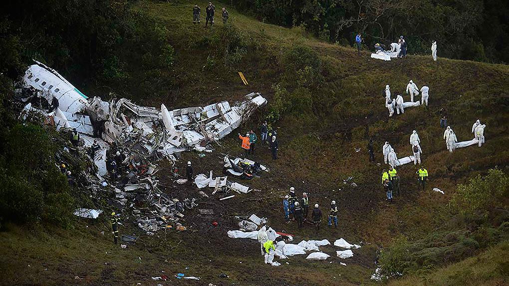 El accidente aéreo ha enlutado a Latinoamérica.