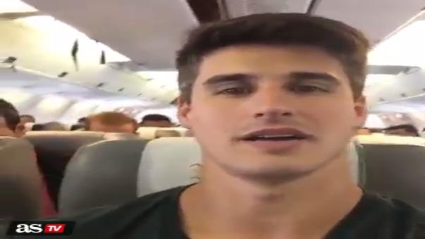 Filipe Machado (32) grabó el último video horas antes del fatídico accidente.