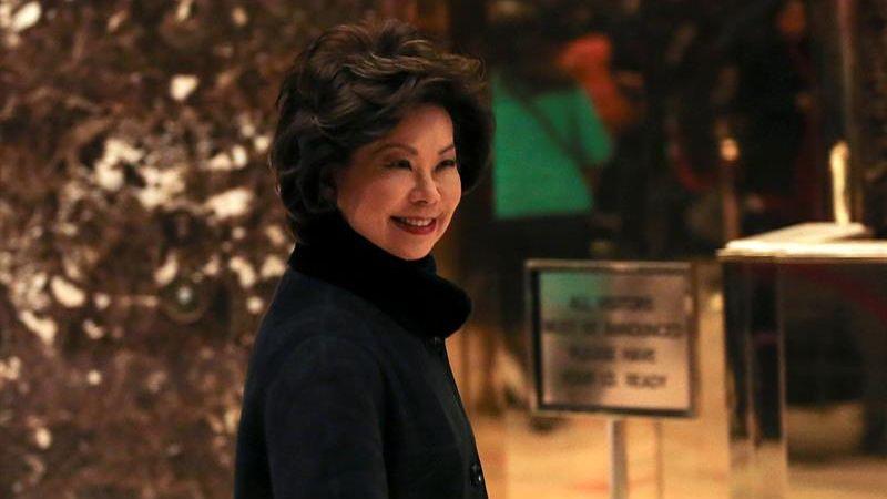 Elaine Chao fue secretaria de Trabajo durante el Gobierno de George W. Bush (2001-2009).