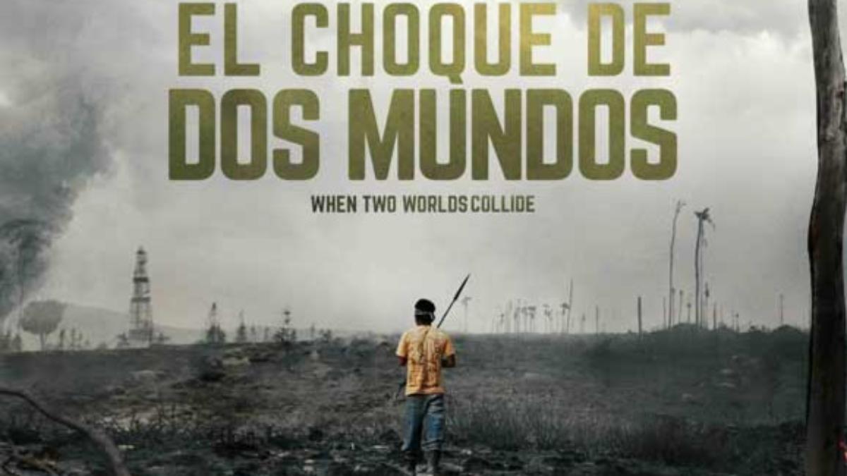 El documental El Choque de Dos Mundos (2016) cuenta la tragedia de los 33 peruanos que fallecieron durante el conflicto socioambiental en Bagua.