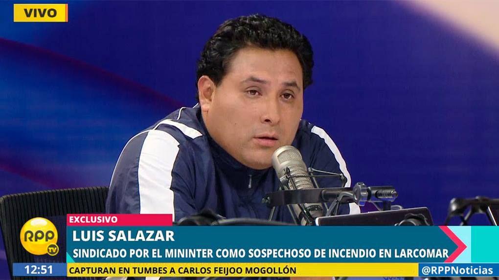 Luis Salazar Belito pidió a las autoridades que lo incriminaron que se rectifiquen.