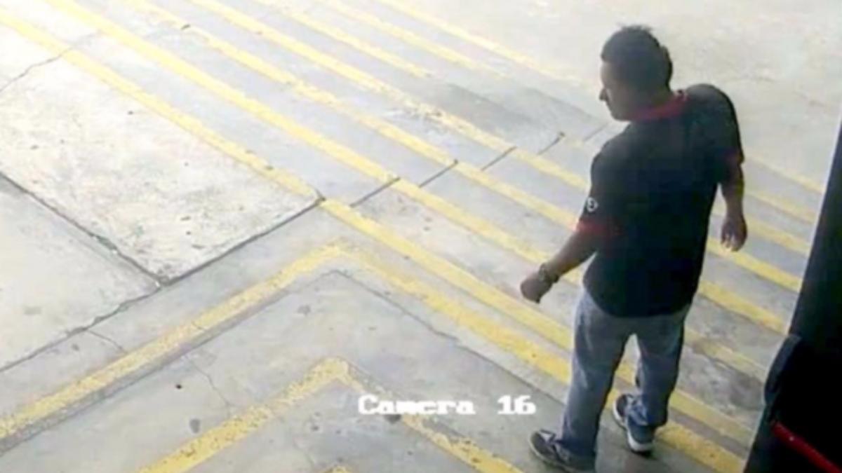 Este es el video difundido por el Mininter.