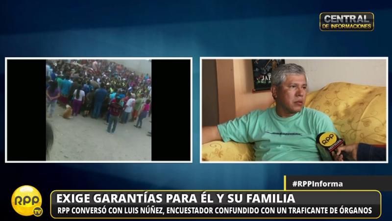 Luis Muñoz Sánchez contó su testimonio.