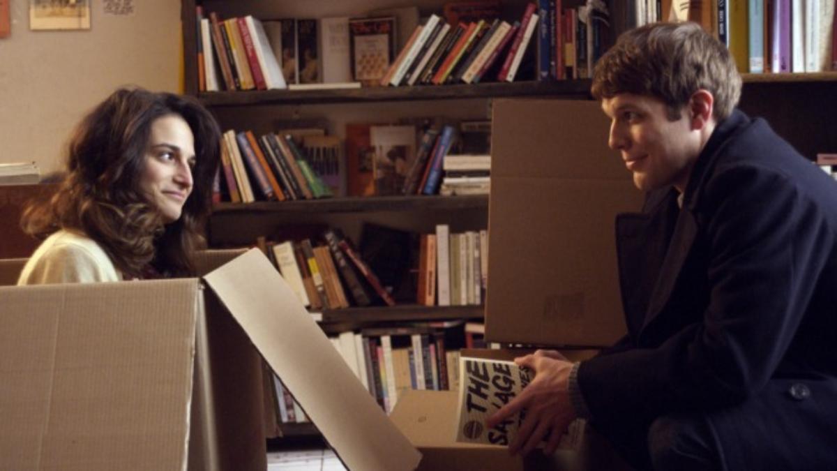 Jenny Slate y Jack Lacy en una de las escenas de la película. Mira el tráiler.