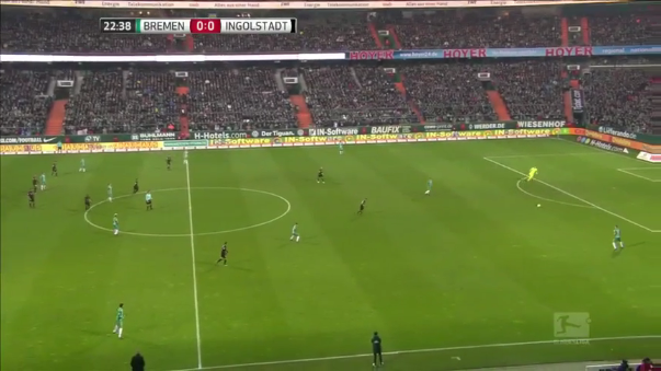 Werder Bremen 2-1 Ingolstadt (Resumen del partido).
