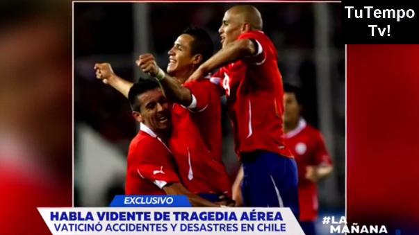 'Carlinhos' manifestó en marzo en un canal de televisión que un equipo entero moriría en un accidente de avión.