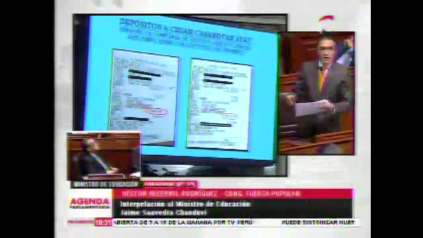 Las pruebas de Héctor Becerril en su denuncia.