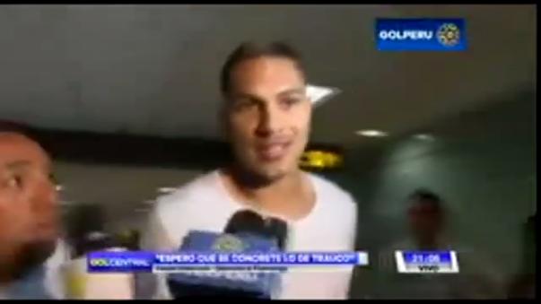 Paolo Guerrero volvió a Brasil para terminar el torneo con Flamengo.