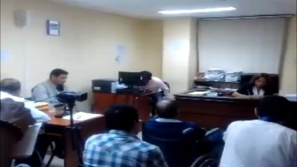 La jueza Mary Isabel Núñez Cortijo halló elementos de convicción para dictar prisión preventiva