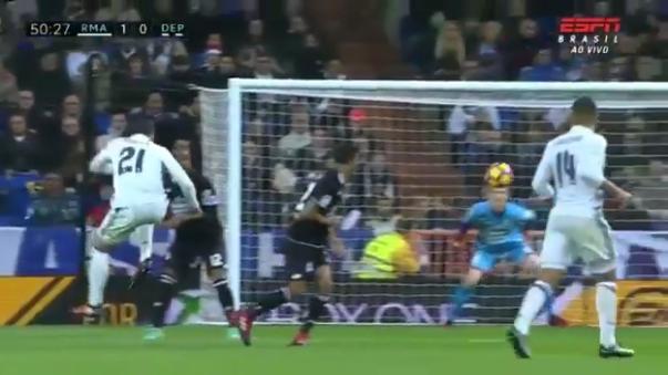 Álvaro Morata tiene 5 goles en la liga española.