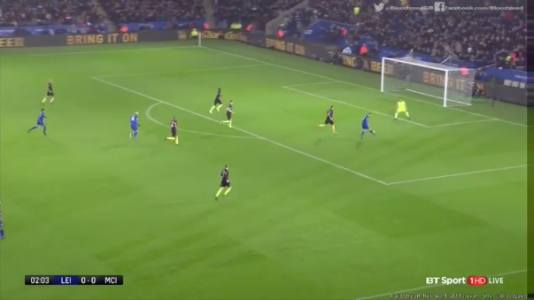 Leicester City 4-2 Manchester City (Resumen del partido).