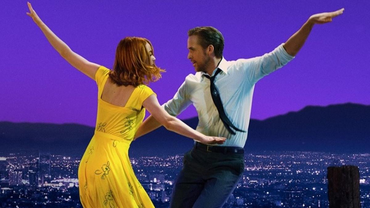 Los protagonistas son Ryan Gosling como un pianista de jazz que se enamora de una aspirante la actriz Emma Stone, en Los Angeles, California.