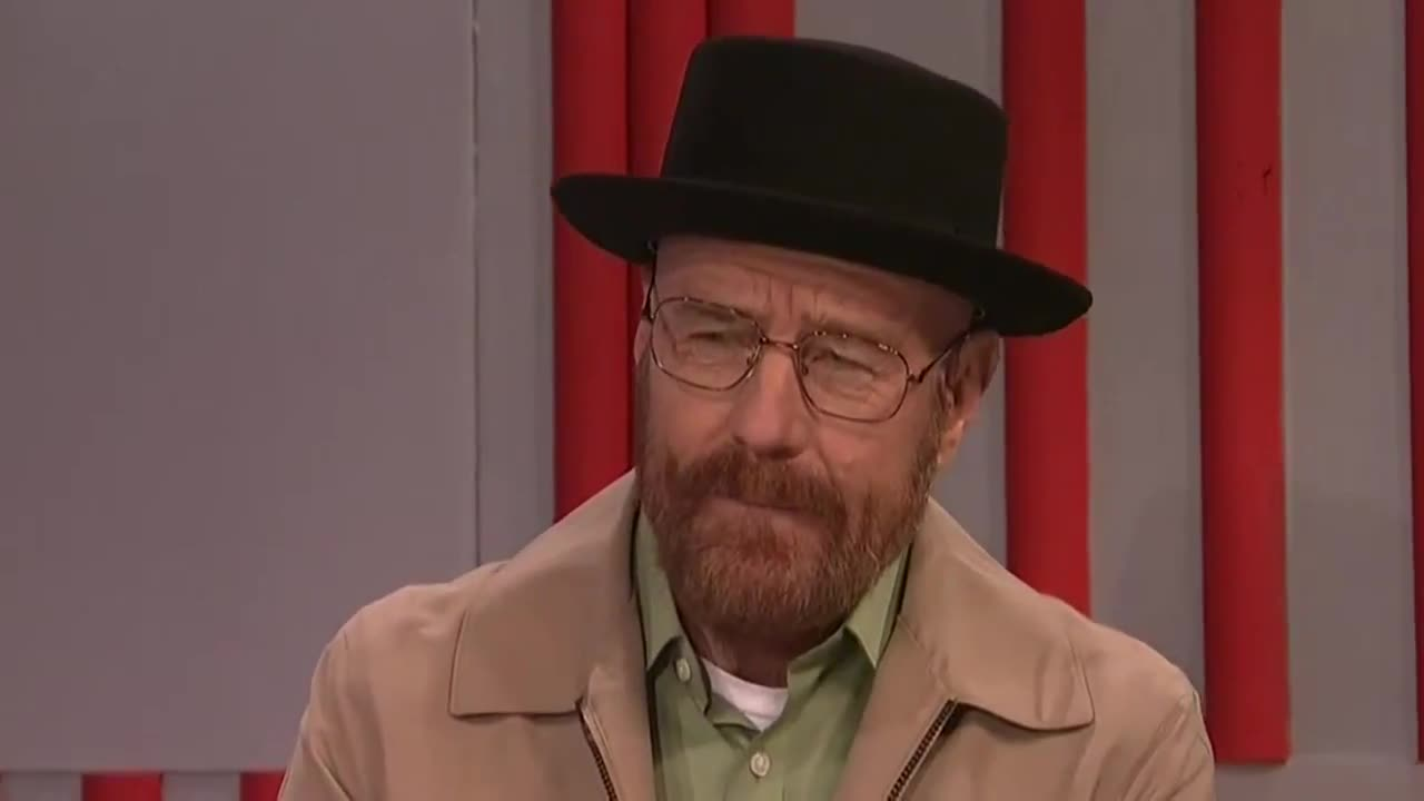 Walter White regresó para el más reciente episodio de Saturday Night Live.
