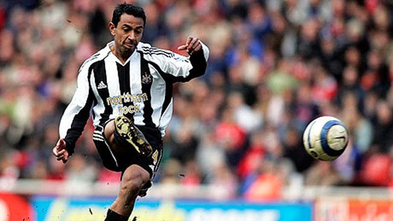 Nolberto Solano jugó en New Castle en dos periodos (1998-2004/2007-2008)