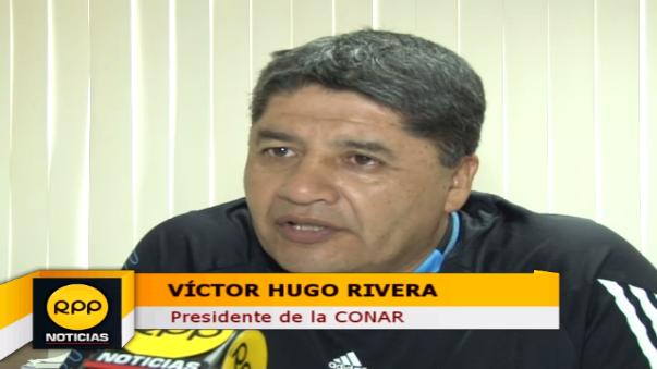 Víctor Hugo Rivera es el vigente presidente de la CONAR.