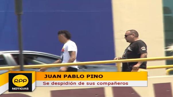 Juan Pablo Pino se despidió de todos en Universitario.
