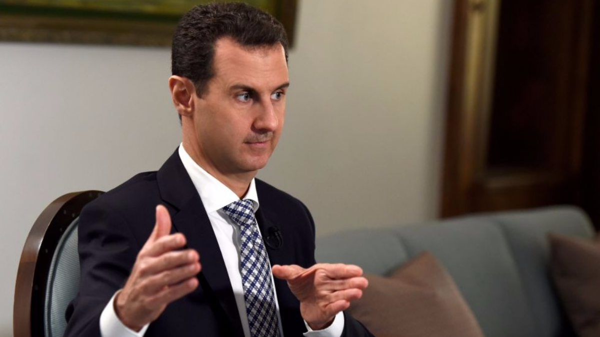Bachar al Asad manifestó que todos los sirios han permanecido