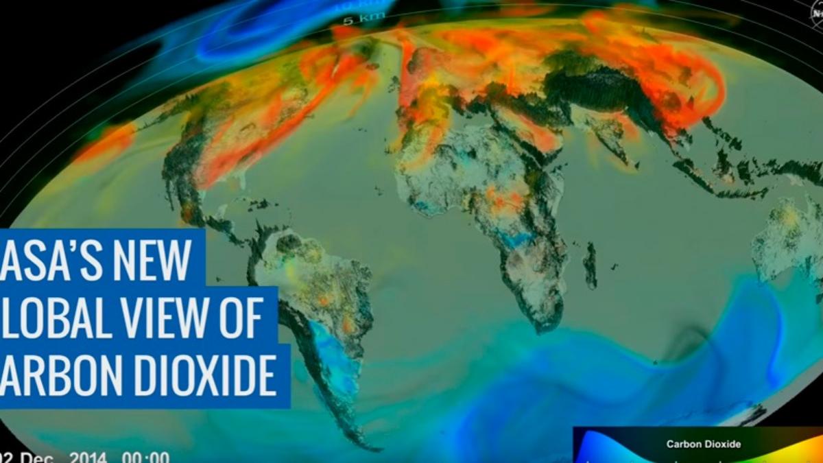 Lo que se sabe al momento, es que la mitad de emisiones causadas por humanos son absorbidas por la tierra (25%) y el océano (25%). La mitad restante permanece en la atmósfera
