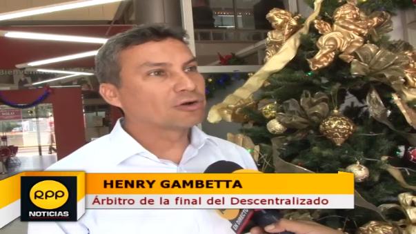 Henry Gambetta decidió darle una entrevista a RPP y explicó cómo se preparó para esta final.