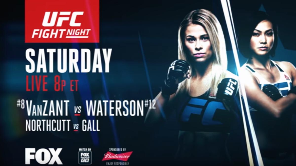 Este fue el trailer publicado por la UFC para promocionar la pelea entre Paige VanZant y Michelle Waterson.