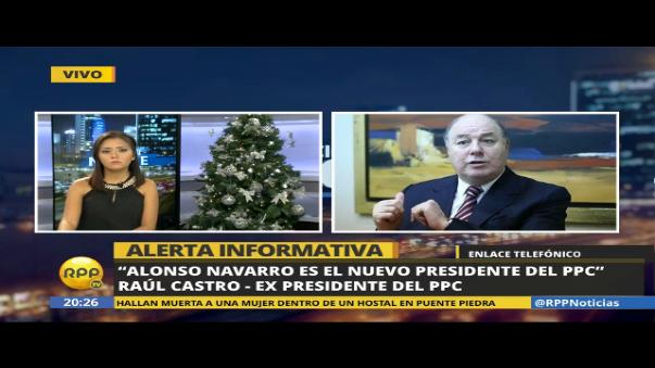 Raúl Castro se pronunció sobre la elección de Alonso Navarro como nuevo presidente del PPC