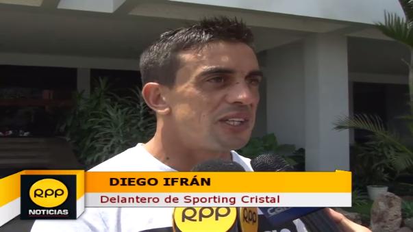 Diego Ifrán tiene actualmente 29 años.