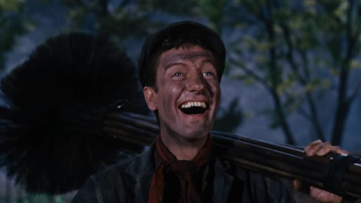 "Dick Van Dyke en Mary Poppins. Chim Chim Cher-ee (from ""Mary Poppins"")"