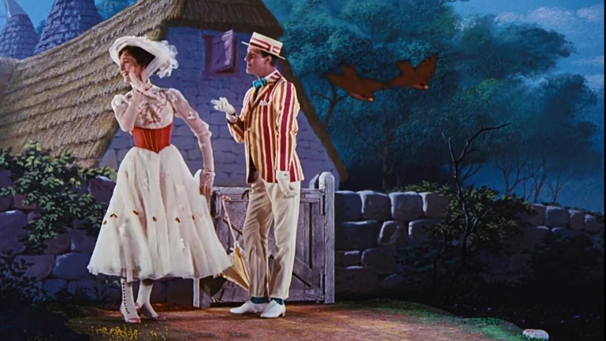 Julie Andrews y Dick Van Dyke - Jolly Holiday