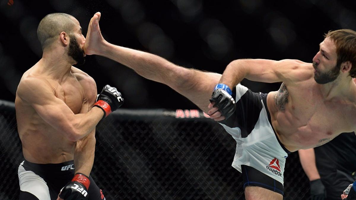 4) El sábado 10 de diciembre, en UFC 206, Lando Vanatta venció por nocaut técnico en el primer asalto a John Makdessi.