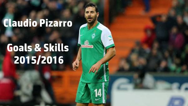 Pizarro es el goleador histórico del Werder Bremen (102 goles), superando al mítico Marco Bode