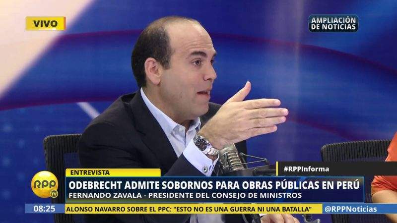 Fernando Zavala resaltó que el Gobierno de Pedro Pablo Kuczynski ha fortalecido la Procuraduría del Estado con la designación de Julia Príncipe.