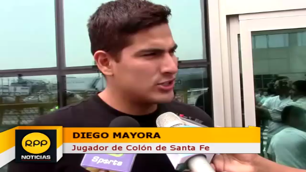 Diego Mayora tiene 24 años y buscará continuidad en el 2017.