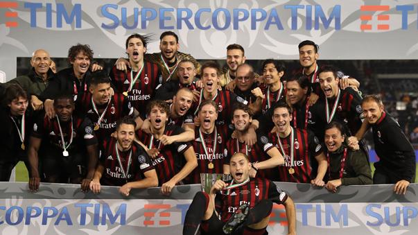 Milan se coronó campeón de la Supercopa de Italia con Gianluca Lapadula entre sus filas.