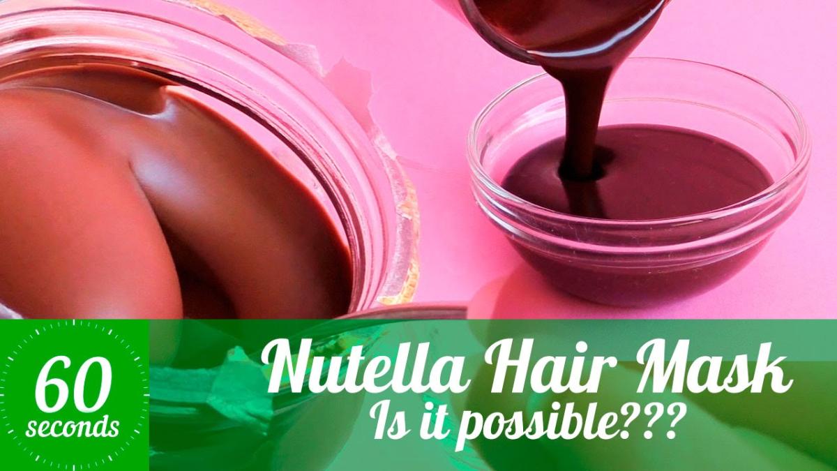 Este es el experimento de una bloguera. El resultado fue un cabello suave y con color a Nutella.
