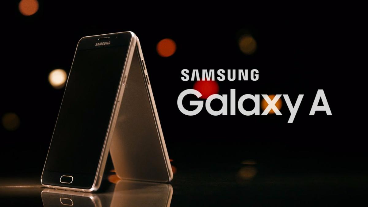 Comercial del nuevo equipo de la serie A de Samsung.