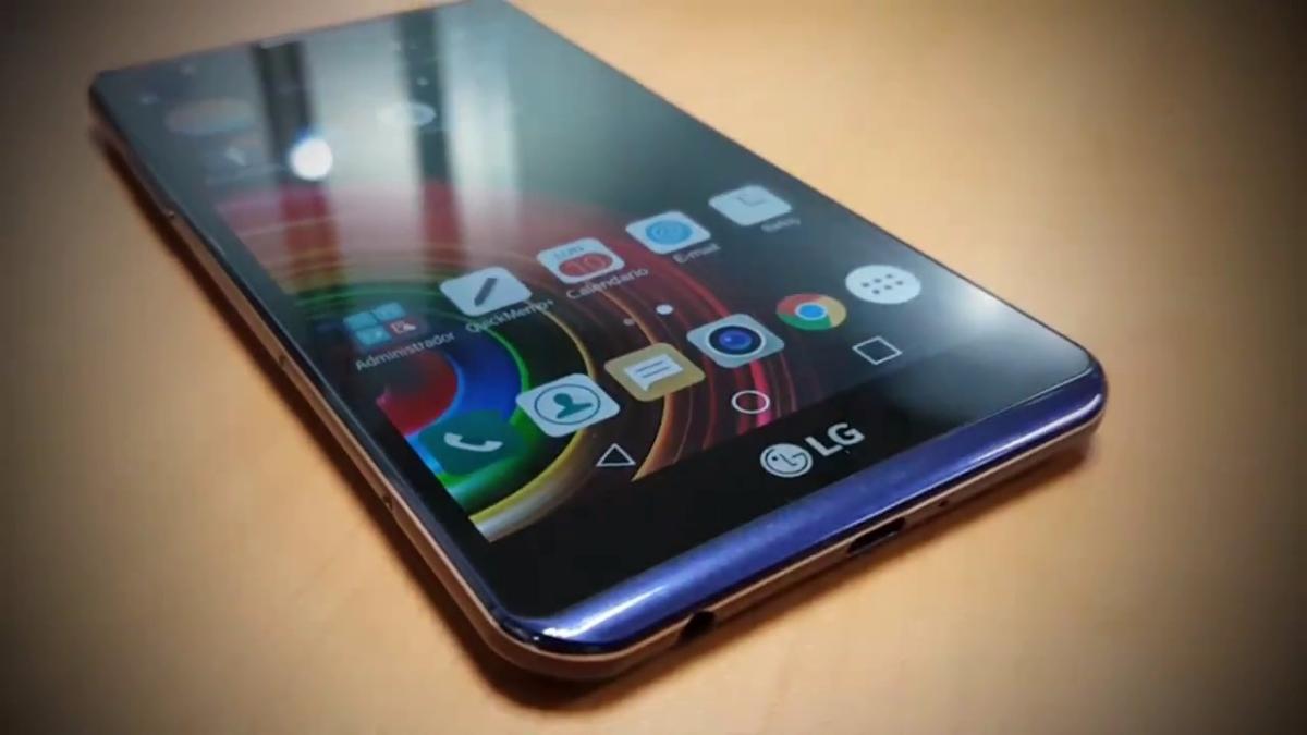LG presentó la serie X para la gama media, smartphone con alguna característica de la gama alta.