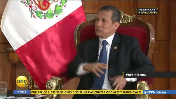 Ollanta Humala será interrogado por primera vez por aportes al Partido Nacionalista.