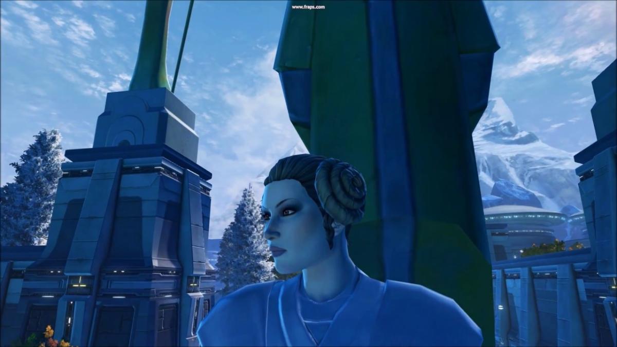 Un curioso homenaje a Carrie Fisher tiene lugar en el videojuego online Star Wars: The Old Republic.