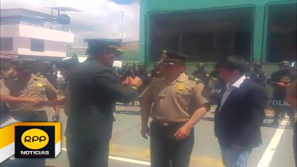 Ascenso en la PNP en Cajamarca