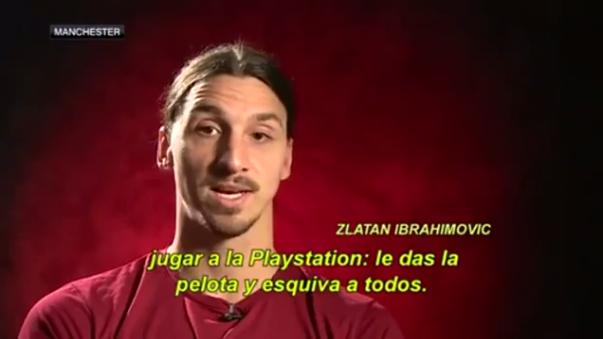 Zlatan Ibrahimovic lleva 12 goles con el Manchester United en la Premier League 2016/2017.