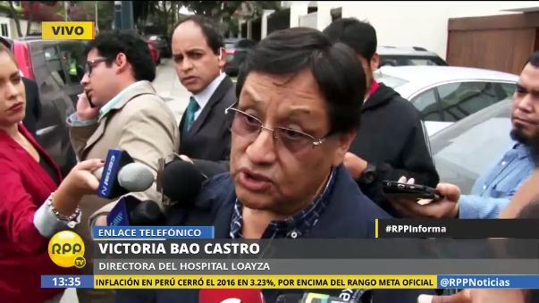 Carlos Moreno regresó a trabajar desde el 30 de diciembre al hospital Arzobispo Loayza.